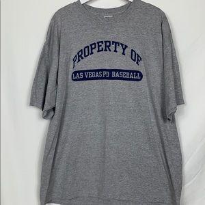 Gildan grey short sleeved tee shirt size 2XL